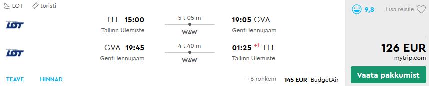 Lennud Genf