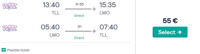 Lennud Lviv